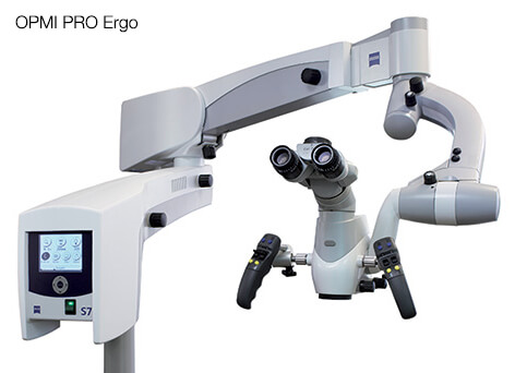 Dental operating microscope Opmi Pro Ergo full view